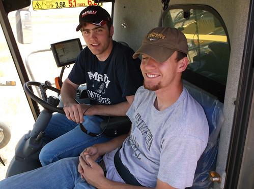 Kurt and Brandon in the CR