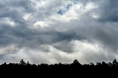mountains clouds catskills catskill