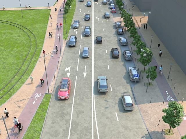Профиль улицы Большакова