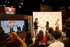 Game Design Master's student Paulina Cabrera was awarded the $10,000 Gives You Wings scholarship during Red Bull Training Grounds.