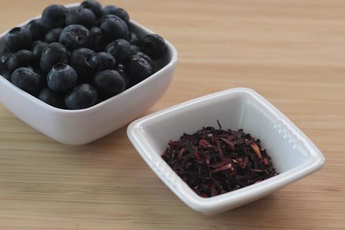 Blueberry Hibiscus Tea Recipe Eating Clean Recipes