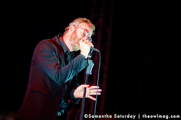 The National @ Hollywood Forever Cemetery, LA 8/11/13
