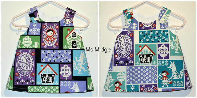 Little Red Riding Hood Twin Pinnies