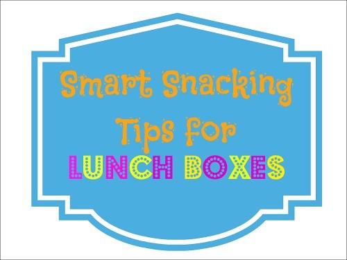 Smart Snacking Tips graphic