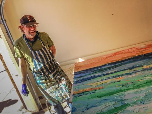 Local artist in San Francisco