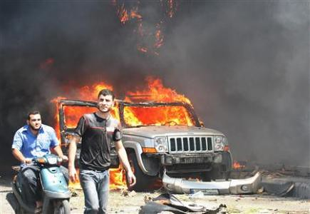 A bomb went off in Tripoli, Lebanon on August 23, 2013. Over 40 people were killed. by Pan-African News Wire File Photos