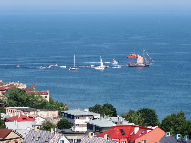 Le port de Tallinn (sadam) (view from the top 4)