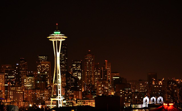 Space Needle by CC user anupamsrivastava on Flickr