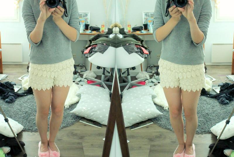 new shorts ja heleveti siisti huone