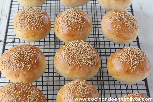 Panecillos de hamburguesas www.cocinandoentreolivos (7)