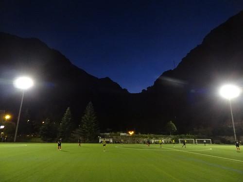 Casa Benfica v UE Santa Coloma B (Andorran 2nd div. at Aixovall stadium).