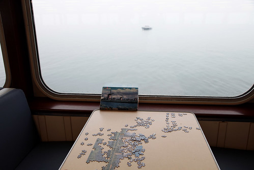 puzzle on the Anacortes ferry