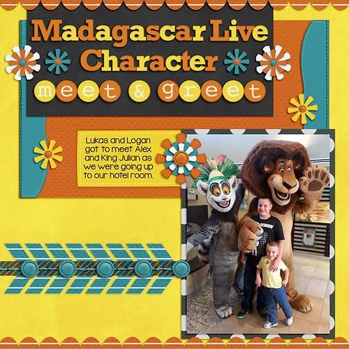 Madagascar Live Meet & Greet by Lukasmummy