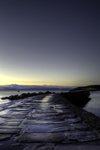 Cullercoats .....Early morning