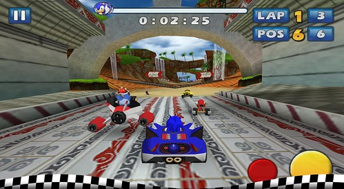 Sonic & SEGA All-Stars Racing - Android Version