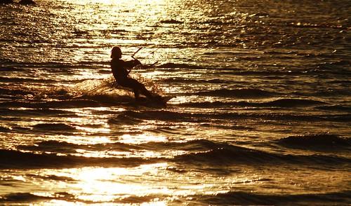 Marco al tramonto. by Claudio61 una foto ferma un ricordo nel tempo