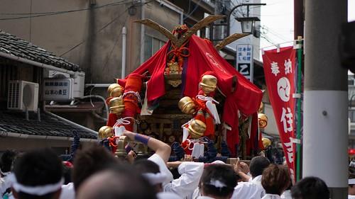 住吉神社の神輿