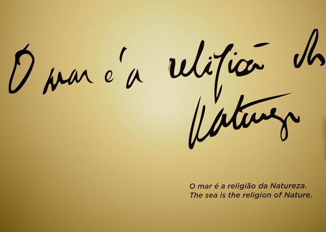 """The  sea is the religion of the  nature"" (Fernando Pessoa)"