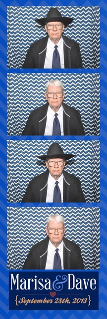 Mr. Brown in the Photo Booth
