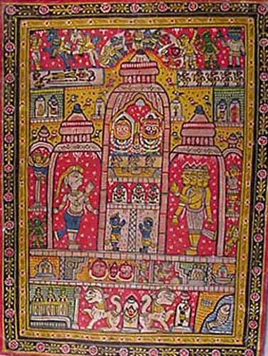 Badhia art of Raghurajpur told by Brinda Suri