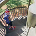 Brad on the Wentworth lookout tower.