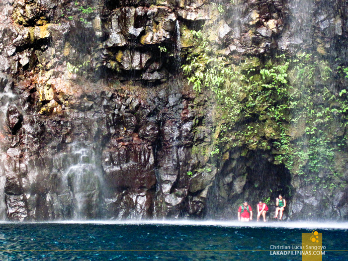 The Rock Wall of Tinago Falls in Iligan City