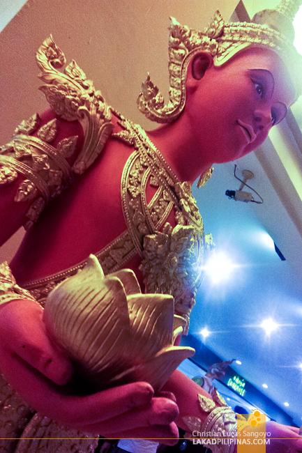 Intricate Sculpture at Phuket's Siam Niramit Show