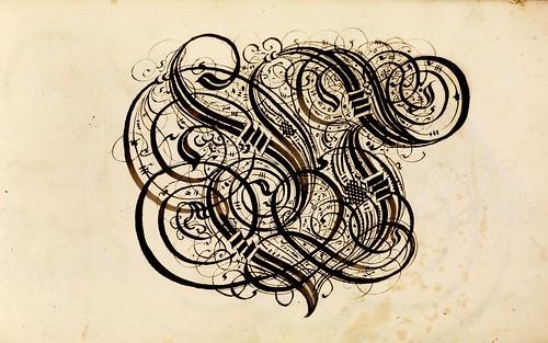 009-Kalligraphische Schriftvorlagen- 1626-1634- Johann Hering- Staatsbibliothek Bamberg