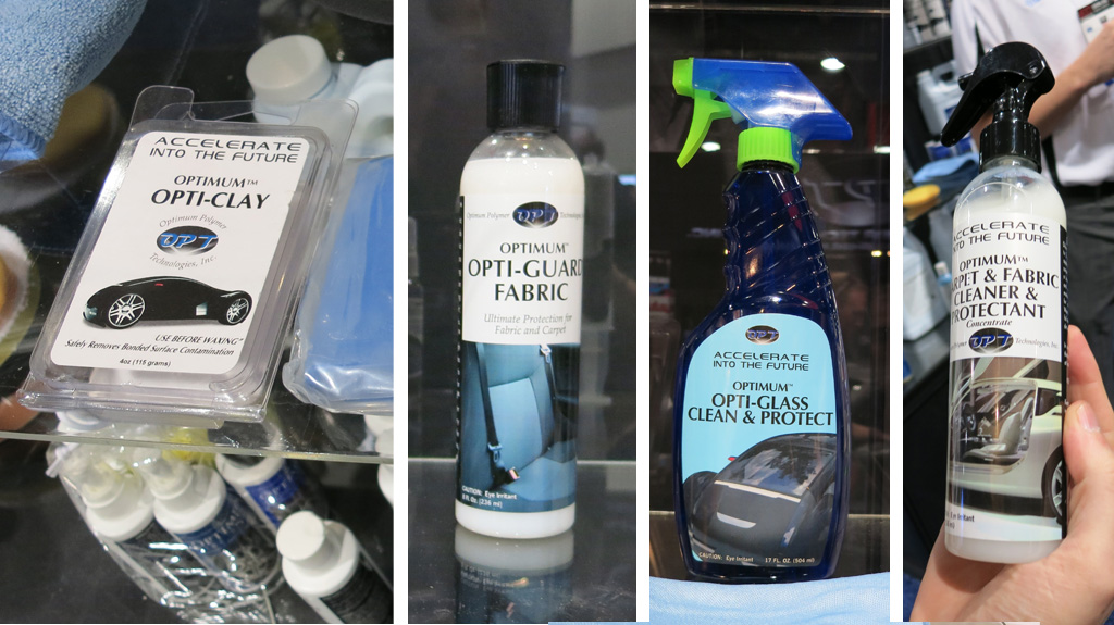 SEMA Show Day 2 - New Optimum Car Care Products