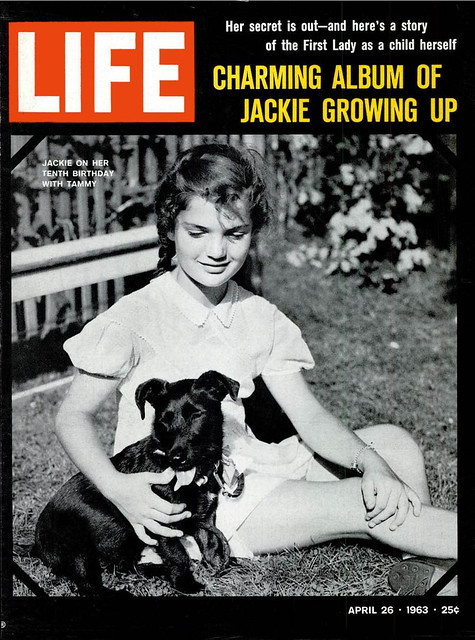 LIFE Magaxine APRIL 26, 1963 (1) - CHARMING ALBULM OF JACKIE GROWING UP