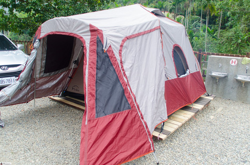 Camping in Nantou