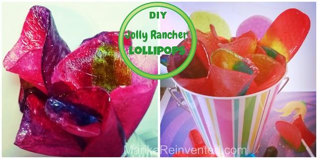 DIY Jolly Rancher Lollipops