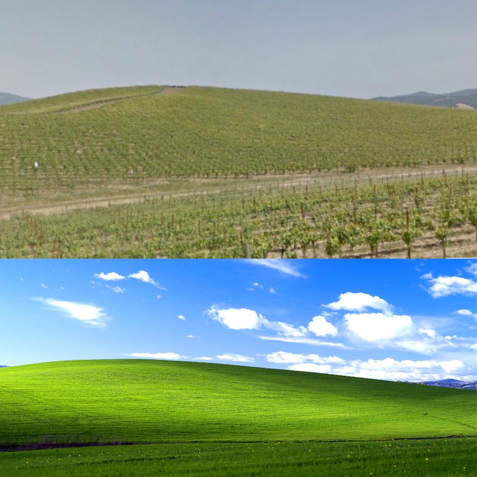 Windows XP Desktop Background In Real Life