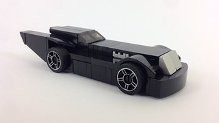 Animated Series Batmobile, mini-sized
