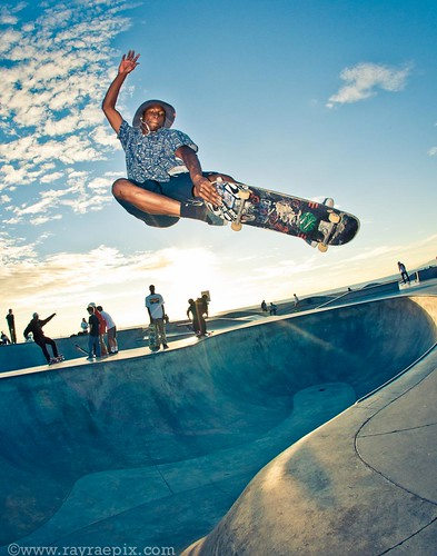 Venice Skatepark - Leandre Sanders 11-23-13