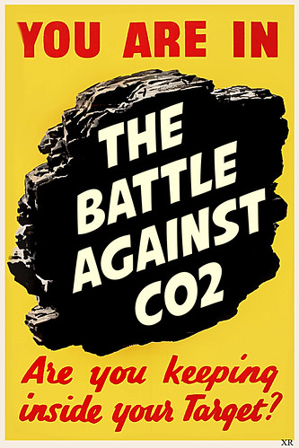 You are in the battle against co2 - the poster by Teacher Dude's BBQ