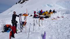 Zakładam foki - obóz 11000 ft (3600m)