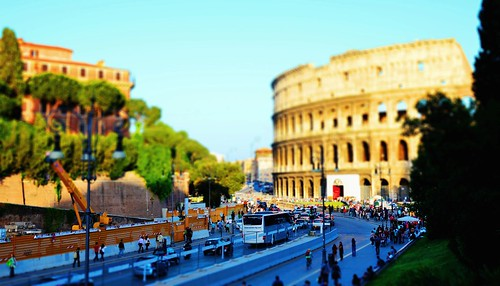 Colosseum tilt-shift