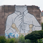 Street Artist Blu, Commentary on Society and Time - Kreuzberg/Friedrichshain, Berlin
