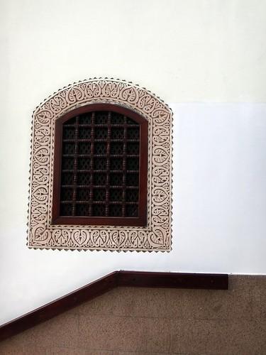 نافذة مسجد القبلتين