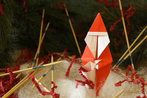 Origami Santa Claus (Quentin Trollip)