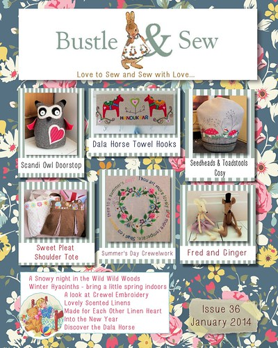 Bustle & Sew Magazine Issue 36