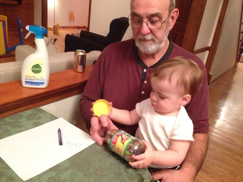 Grandpa and Elliott Coloring