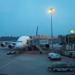 Sa, 28.12.13 - 11:08 - 'Mein A380' am Changi Airport in Singapur