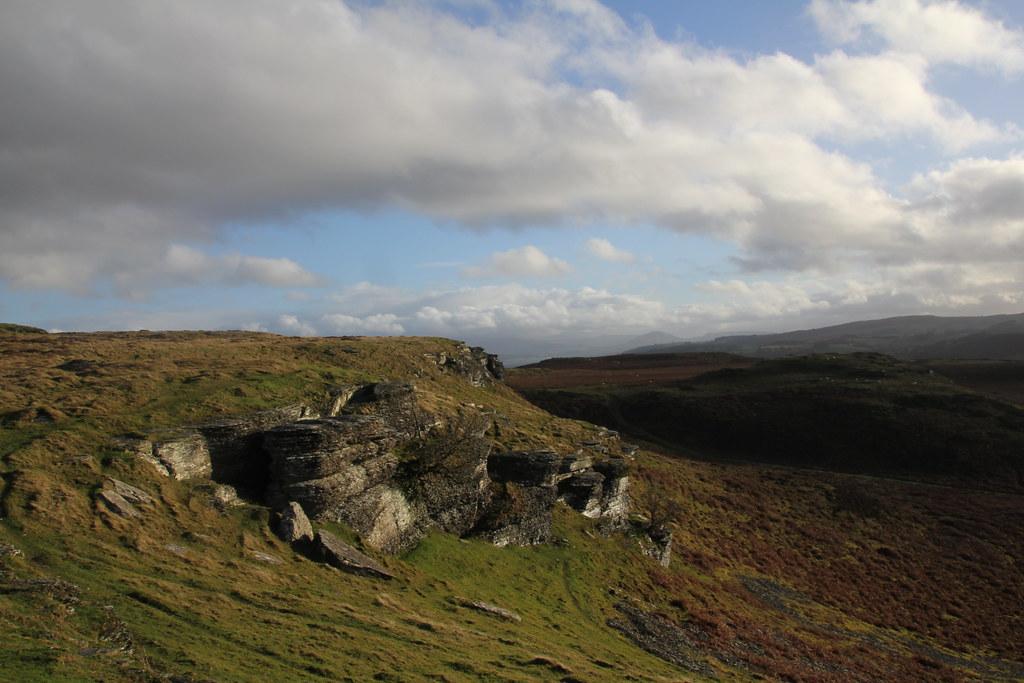 Aberedw, Aberedw Rocks, Llandeilo Hill