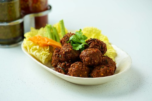 Spicy Meat Balls by foodiegoodiex