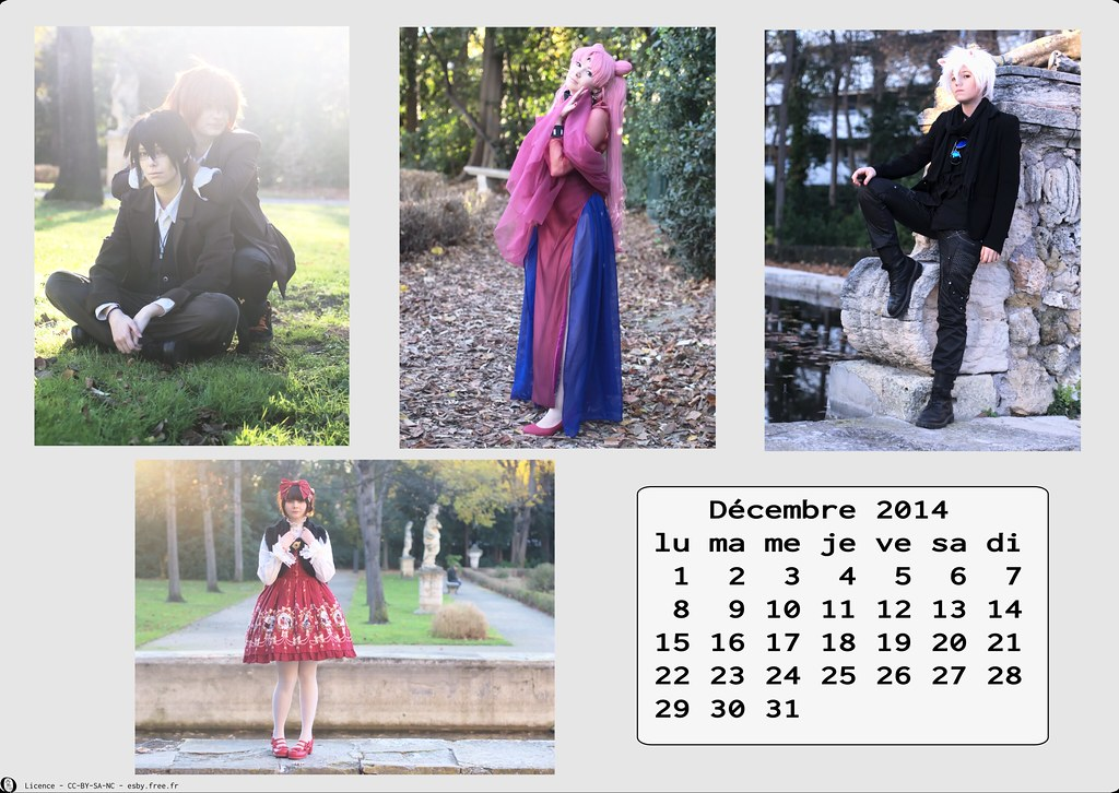 related image - Calendrier Cosplay 2014-12 - Décembre