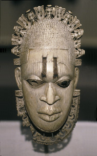 Hip or pendant mask of the iyoba (Queen Mother) Idia