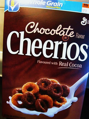 Chocolate Cheerios // Big Lots! by VeganBananas