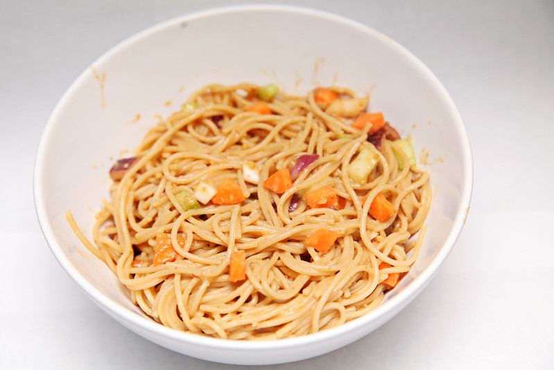 Peanut Lime Noodles